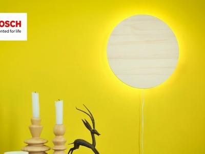 Project Tutorial: DIY Wall Light