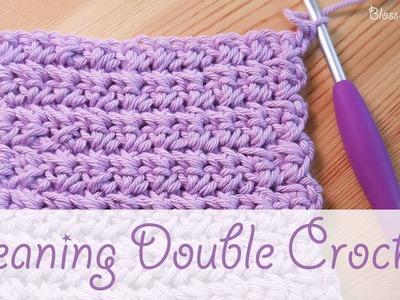 Simple Crochet: Leaning Double Crochet (US Single)