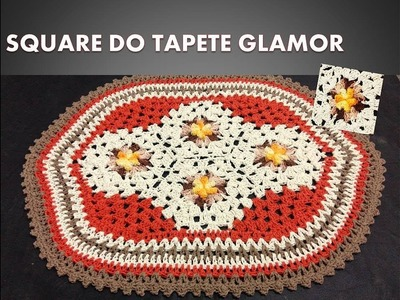SQUARE DO TAPETE GLAMOUR