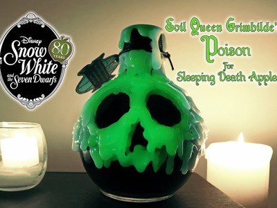 The Evil Queen's Poison for Sleeping Death Apples : DIY Potion Prop : Snow White 80th Anniversary