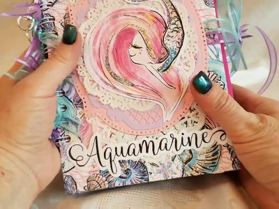 Whimsical Mermaid Junk Journal for Ryanna and Craft Fantastic DT