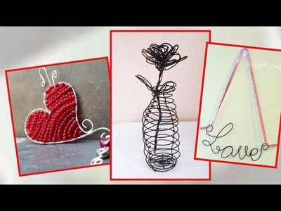 Wire Art and Craft Ideas. Valentines Day Special
