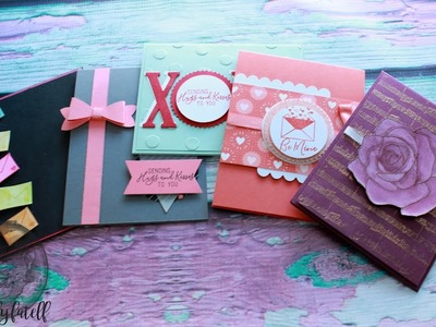 10 Cards 1 Kit  Jan 2018 Paper Pumpkin Pt 2