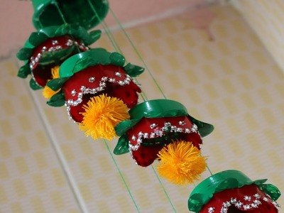 Amazing! DIY Wind Chime Out of Disposable Tea Cups    Best out of waste    Easy recycled craft ideas