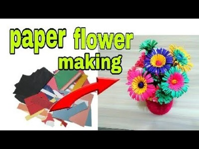 Best use of waste paper very easy and DIY at home and home decoration idea
