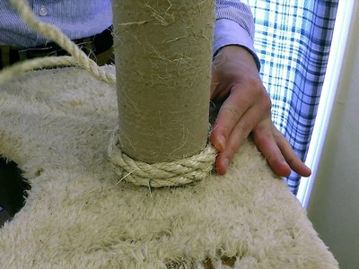 Climb-It Cat: DIY How to Refurbish.Restore a Cat Tree & Scratching Post
