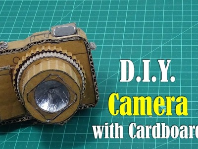 DIY: Camera with Cardboard - How to Make