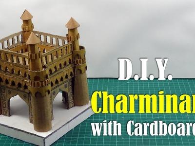 DIY: Charminar with Cardboard - How to Make