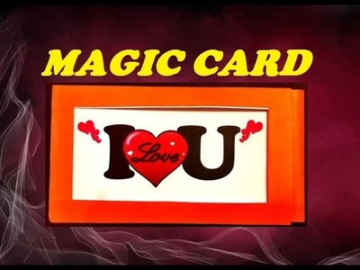 DIY Handmade MAGIC Greeting CARD - How To Make