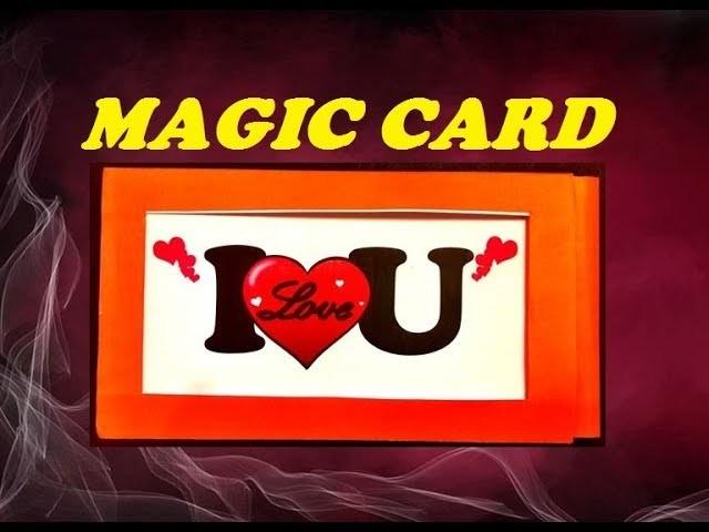DIY Handmade MAGIC Greeting CARD - How To Make