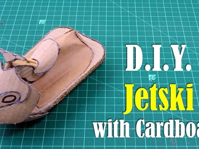 DIY: Jetski with Cardboard - How to Make very easy