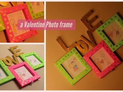 DIY - Make a Photo Frame using Paper