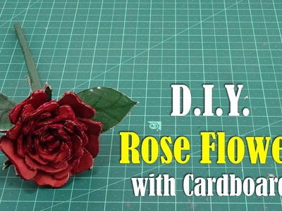 DIY: Rose with Cardboard - How to Make