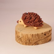 Hedgehog Fridge Magnet Nature Wildlife Handmade Animal Cute Fimo Home Decor
