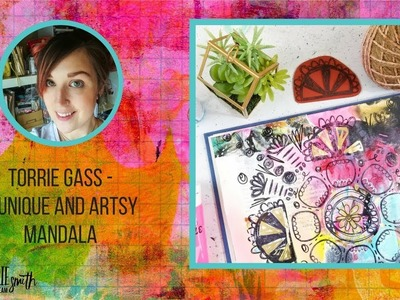 How To Create a Unique and Artsy Mandala For Your Journal