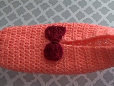 How To Crochet A Slipper With A Bow, Lilu's Handmade Corner Video # 227