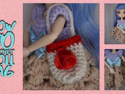 How To Crochet Bag For Doll ????