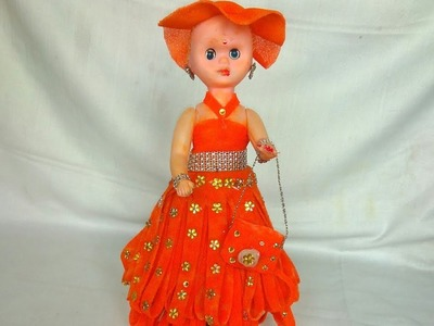How to decorate a doll from foam sheet