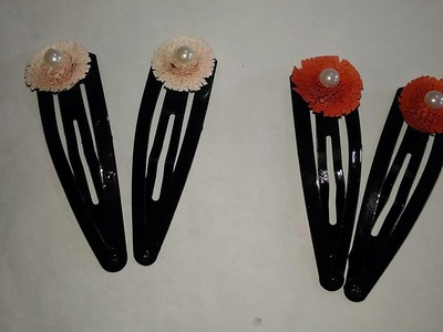 How to do: Quilling designs on hair clips!