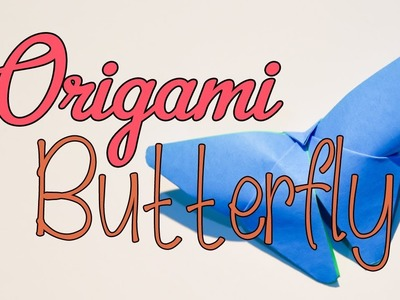 How To Fold Origami Butterfly [VERY EASY]