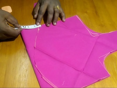 How to joint blouse front and back side perfectly.