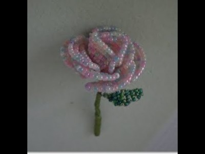 How to make a beaded Rose