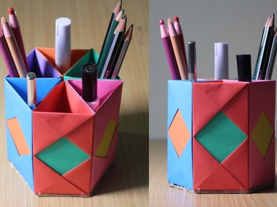 How to Make a Beautiful Pencil Holder With Paper