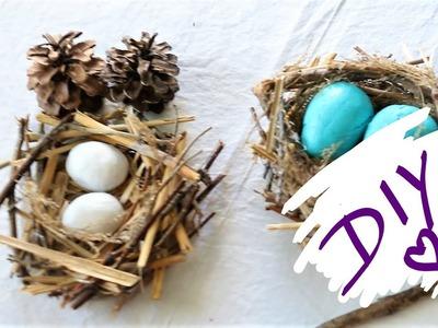 How to make a birds nest || Easy DIY Birds nest