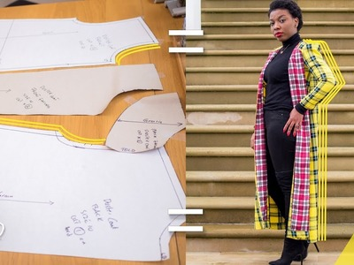 HOW TO: MAKE A DUSTER COAT PT 2   PATTERN TUTORIAL