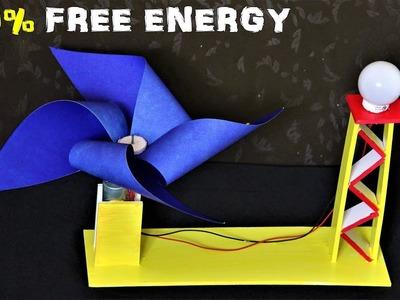 How to make a FREE Energy light