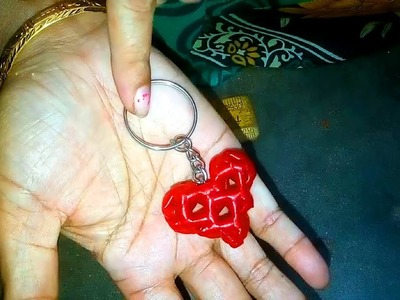 How to Make a - Heart Key chain
