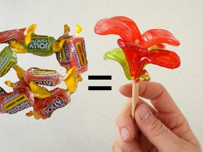 How to Make a Jolly Rancher Flower