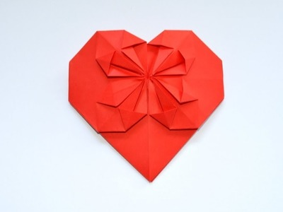How to make a paper heart for Valentines Day - Easy Tutorials