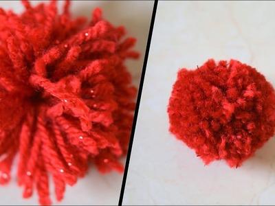 How to make a Perfect pom pom | Secret to make perfect pom pom