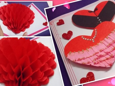 How to make a Valentine's Day card | Handmade Pop Up Card