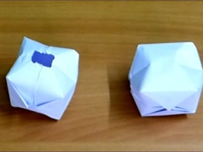 How to make an inkpot or How to Make Paper Ball Easy Steps