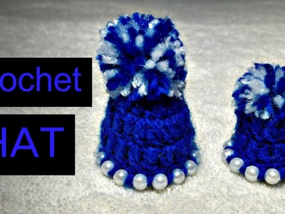 How to make Beaded Crochet HAT for Laddu Gopal. Kanha Ji (all sizes)