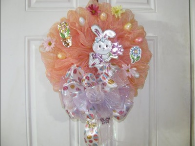 How To Make Carmen's Cute Bunny Wreath