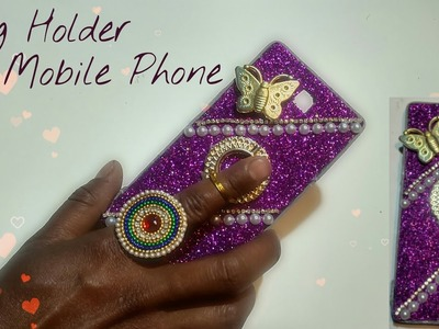 How to make mobile cover and Ring Holder Universal mobile phone & tabletArt With Creation