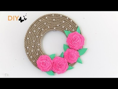 How TO Make Rope Wall Hanging || Wall Decor idea || Inspiration Kidzone
