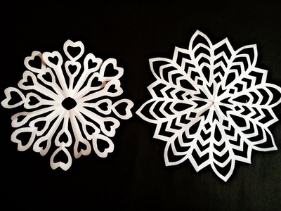 How to make simple & easy paper cutting flower designs. paper flower.DIY Tutorial by step by step.