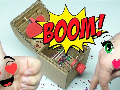???? HOW TO MAKE SURPRISE BOX FOR VALENTINE's DAY | MAD HANDMADE