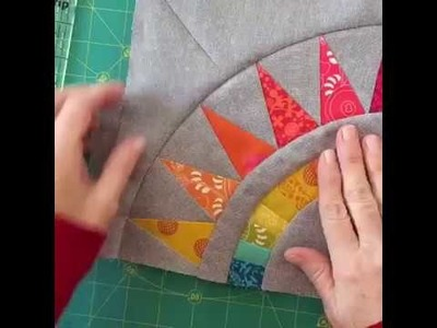 How to paper piece New York Beauty Blocks!
