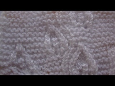 How to start Knitting? Training Tutorial of Bordering for Beginners##9