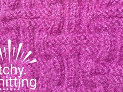 Knitting pattern in an easy way #1