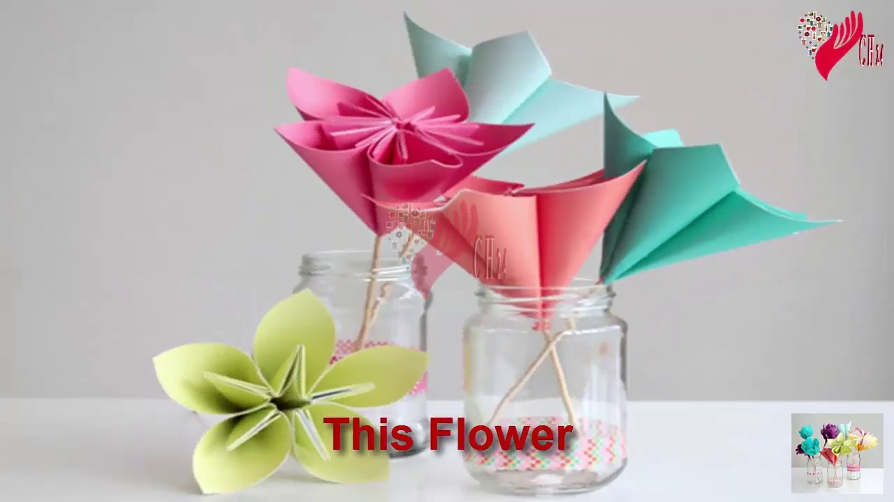 Flower Making Flowers With Paper How To Make A Paper Daisy Paper