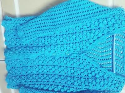 New sweater crochet design for women.