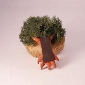 Tree Fridge Magnet Nature Reindeer Moss Handmade Cute Brown Fimo Home Decor
