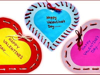 Valentine's Day Card   How To Make A Valentine's Day Card   Simple And Beautiful DIY Card