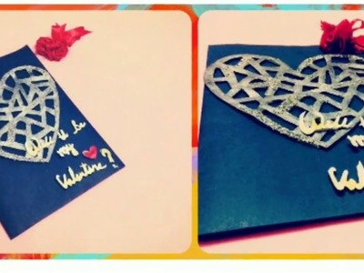 Valentine Special LOVE Greeting Card | How to make 3D Proposal Cards